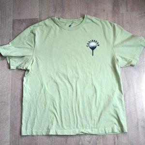 Caribbean L green Golf T Shirt